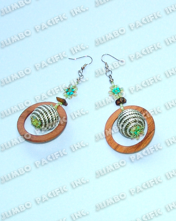 Philippines Jewelry wood earring